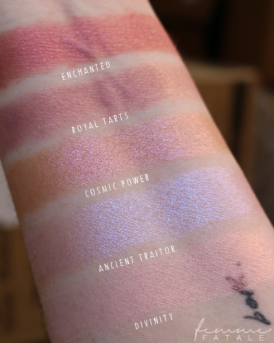 Swatches - WARM PINKS