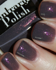 A Bit of Mystery swatched by Vampy Varnish