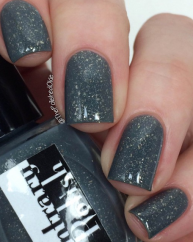 Frozen Sky swatched by @thepolishedokie