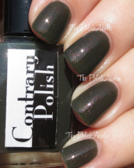 Oh! the Horror! swatched by the Polish Aholic