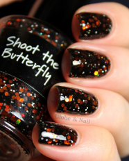 Shoot the Butterfly swatched by Globe & Nail