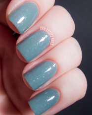 Aint No Sunshine swatched by Chalkboard Nails