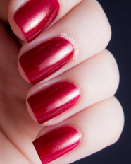 Bloodorange swatched by Chalkboard Nails