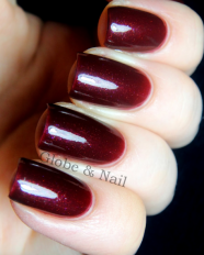 Firebrand swatched by Globe & Nail