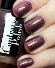 Gilded oak swatched by The Nail Network