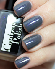 Purple Smoke swatched by The Nail Network