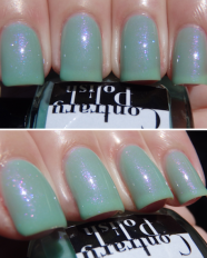 make-Believe reality swatched by More Nail Polish