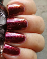 Hellhound swatched by Ida Nails It
