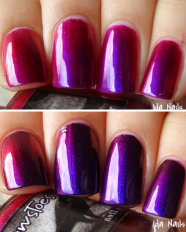Indian Summer swatched by Ida Nails It