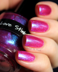 Love Stinks swatched by Globe & Nail