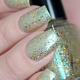 Glass Carousel swatched by @glitterfingersss 1