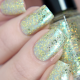 Glass Carousel swatched by @glitterfingersss
