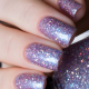Spangled Starlight swatched by @solo_nails