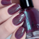 Whispers of Velvet swatched by @glitterfingersss - cold form