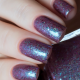 night and silence swatched by @solo_nails