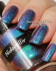 Nidavellir swatched by Marias Nail art and polish blog