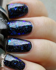 Sweet as Sugar Cold as Ice swatched by Ida Nails It