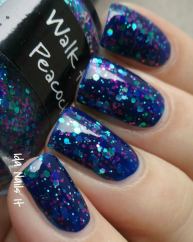 Walk the Peacock swatched by Ida Nails It