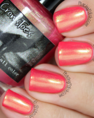 tequila Sunrise swatched by Peachy Polish