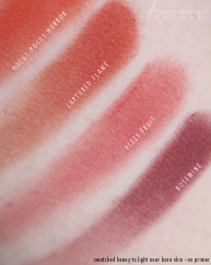red tone blushes