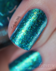 Jewel from the Deep swatched by @emilydemolly