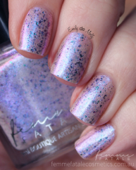Liquid Pearl swatched by @emilydemolly