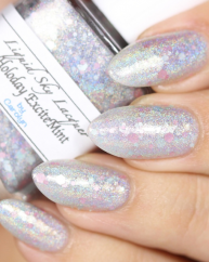 Holoday Excitemint swatched by Lylynails