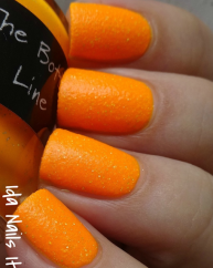 The Bottom Line swatched by Ida Nails It without topcoat