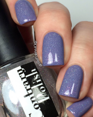 Dewy swatched by @thepolishedoakie