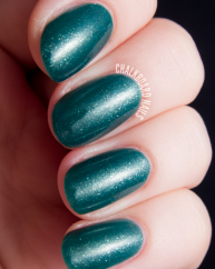 Dioptase swatched by Chalkboard Nails