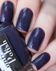 Exotic Eggplant swatched by @lfcbabe