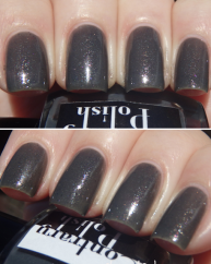 Graphite swatched by More Nail Polish
