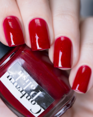 Modern Maroon swatched by @lfcbabe