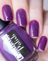 Perplexing Plum swatched by @lfcbabe