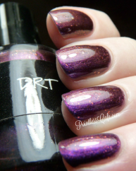 DRT swatched by Pointless nail Cafe