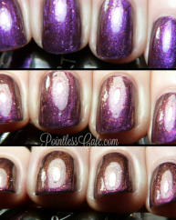 DRT swatched by Pointless nail Cafe 2
