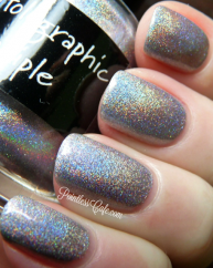 The Holographic Principle swatched by Pointless nail Cafe